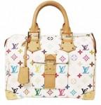 LV M92643白-33彩系列經典奢華時尚高品質手提包