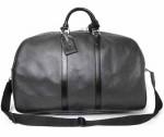 LV M30112-LV奢華時尚十字紋Taiga全皮旅行袋