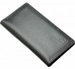 LV M30392-LV新款水波紋長夾黑色