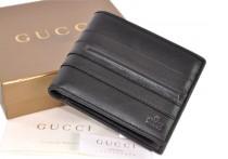 GUCCI 233057-GUCCI上等牛皮魅力短款男士錢包