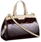 LV M91622-Louis Vuitton BREA PM小號漆皮紫紅色包包