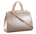 LV M91618-Louis Vuitton rea櫻花漆皮手提包斜挎包女包