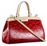 LV M91623-Louis Vuitton BREA PM小號漆皮紅色包包