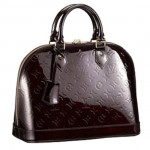 LV m91611-Louis Vuitton ALMA咖啡色小號手袋