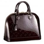 LV m91611-Louis Vuitton ALMA咖啡色小號手袋