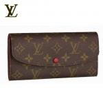 LV M60136-Louis Vuitton 新款時尚中長款錢包