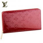 LV M93611紅-紅色大拉鏈長款錢包