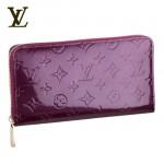 LV M93609紫-紫色大拉鏈長款錢包