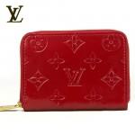 LV M93604紅-亮皮紅色時尚錢包