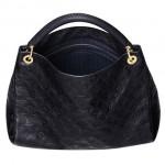 LV M93448 ARTSY中號全皮女士手袋單肩包購物袋 黑色