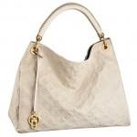 LV M93449 ARTSY中號全皮女士手袋單肩包購物袋 米白