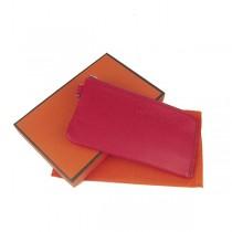 Hermes H010紅色潮流百搭卡包 時尚錢包錢夾皮夾 男女適用