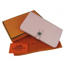 Hermes H001 粉紅錢包 Wallets錢夾