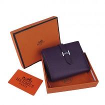 Hermes H006紫色 高品质時尚女錢包 女錢夾 女士錢包