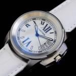 卡地亞手錶 cartier  瑞士進口 藍氣球 自動機械女表 CARTIER-78