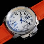 卡地亞手錶 cartier  瑞士進口 藍氣球 自動機械女表 CARTIER-77