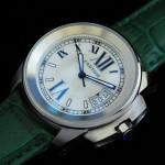 卡地亞手錶 cartier  瑞士進口 藍氣球 自動機械女表 CARTIER-97