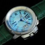 卡地亞手錶 cartier  瑞士進口 藍氣球 自動機械女表 CARTIER-94