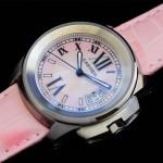 卡地亞手錶 cartier  瑞士進口 藍氣球 自動機械女表 CARTIER-96