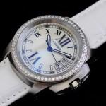 卡地亞手錶 cartier  瑞士進口 藍氣球 自動機械女表 CARTIER-93