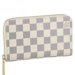 LV N60029 新款Damier 棋盤格 女士拉鏈錢包