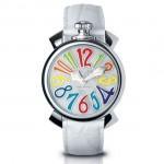 日本專櫃正品-意大利GaGa MILANO- 彩色皮帶-時裝女錶-大數字石英手錶 嘎嘎手錶 GAGA-1
