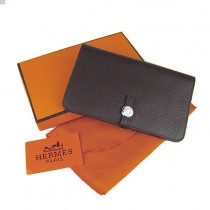 Hermes H001深啡色 專櫃年熱銷款 頭層牛皮