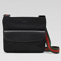 Gucci 256100-1 秋冬新款男士時尚帆布斜背包