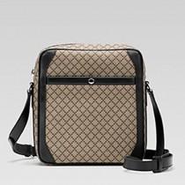 Gucci 268159 秋冬新款黑色菱紋背包