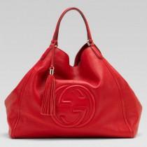 Gucci  282308-2  專櫃春夏新款休閒全皮單肩包
