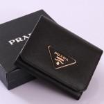 PRADA 1M0176-2 新款三折短夾