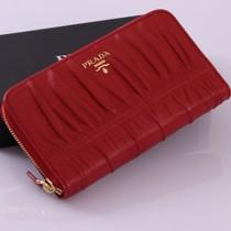 PRADA 1M0506-4 新款手拿小羊皮長款錢夾