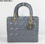 Dior 6321-1-Ladydior包包戴妃包 皮/羊皮/真皮手提单肩