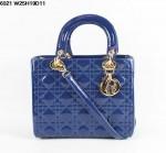 Dior 6321-4-Ladydior包包戴妃包 皮/羊皮/真皮手提单肩
