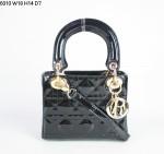 Dior 6310-包包戴妃包 漆皮/羊皮/真皮手提单肩