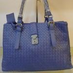 BV 7453 奢华明星最爱經典款 羊皮手工编织包