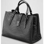 BV 7453-1 奢华明星最爱經典款 羊皮手工编织包