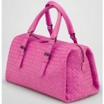 BV 9646-1 奢华明星最爱經典款 羊皮手工编织包