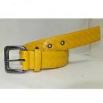 BV 07 银扣黄色皮带