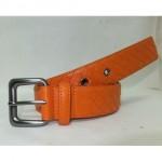 BV 05 银扣橙色皮带