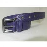 BV 06 银扣紫色皮带