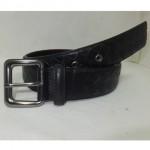 BV 01 银扣黑色皮带