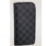 LV N63095 新款黑色格子男士錢夾