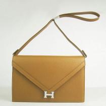 Hermes- H021-15 愛馬仕肩背包斜背包 銀