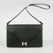 Hermes- H021-3 愛馬仕肩背包斜背包 銀