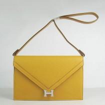 Hermes- H021-7 愛馬仕肩背包斜背包 銀