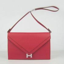 Hermes- H021-5 愛馬仕肩背包斜背包 銀