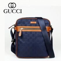 GUCCI 298601 專櫃 新款流行時尚男士休閒斜挎包
