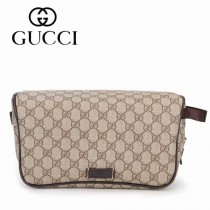GUCCI 211125 專櫃春夏新款雙G圖案女士化妝包 男士手拿包