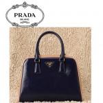 PRADA-BL0809  普拉达Saffiano系列手提袋